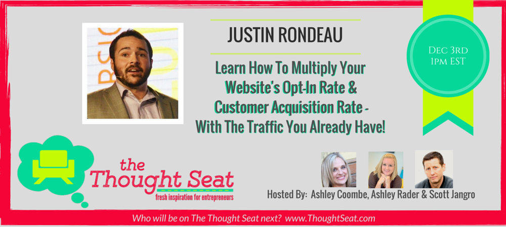 Episode 5: Conversion and Funnel Optimization for Bloggers – with Justin Rondeau